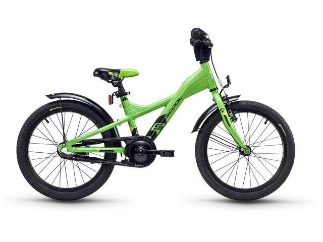 s'cool XXlite 18 3-S - Vélo enfant - alloy vert